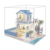 Milageto 家具、軽い構造の木製の手作りドールハウス