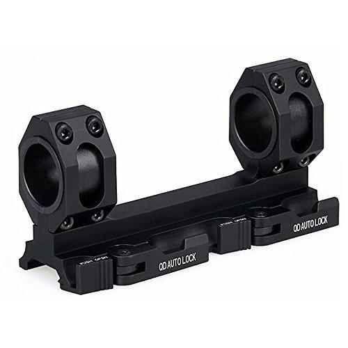 Triplespark 25mm / 30mm Doble Anillo de Montaje Alcance de Montaje Adaptador de Montaje para 20 mm Picatinny Weaver Tren