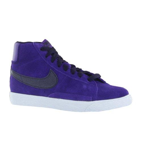 Nike Blazer Mid Vintage Purple Suede Kids Trainers