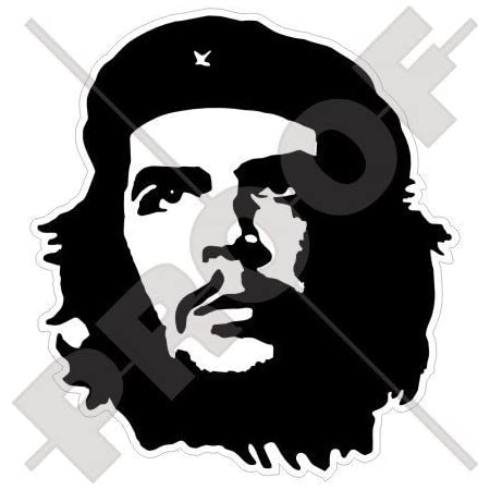 Che Guevara Revolutionär 110mm Auto Motorrad Aufkleber Vinyl Sticker Garten