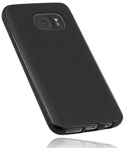 mumbi 12731-Samsung Hülle kompatibel mit Samsung Galaxy S7 Handy Case Handyhülle, schwarz