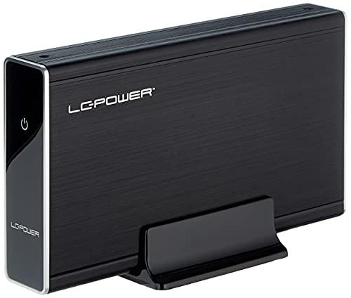 """LC-Power LC-35U3 Case Esterno per HDD 3,5"""", Nero"""