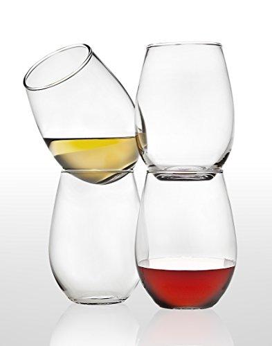 Studio Silberschmieden Set 4444ml Weinglas Weingläser ohne Stiel