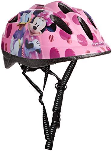 Toimsa Disney Kinder Schutzhelm Kinderhelm Kinderfahrradhelm Fahrrad Helm Minnie Mouse Maus