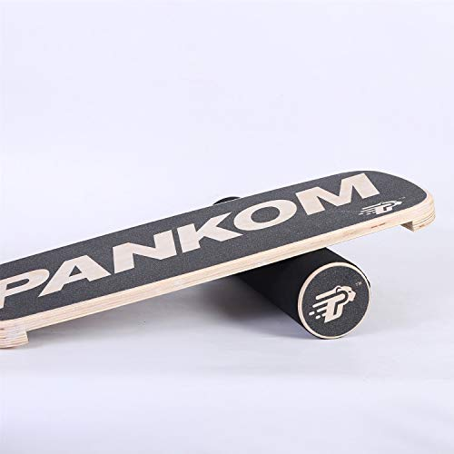 Buy Cheap Limaomao Balance Board Wooden Balance Board for Fitness Training Board Exercise, Seesaw, R...