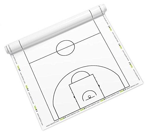 Taktifol Feuille de tactique pour Basket-ball