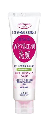 KOSE COSMEPORT softymo Facial Washing Foam Hyaluronic Acid 150g (japan import)