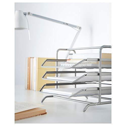 『IKEA(イケア) DOKUMENT シルバーカラー 30160997 レタートレイ、シルバーカラー』の2枚目の画像