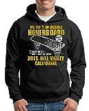 TShirt-People Hoverboard California - Sudadera con capucha para hombre negro XL