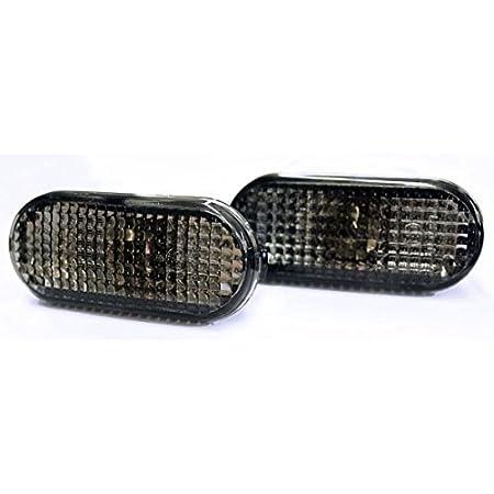 Seitenblinker Schwarz Oval Links Rechts Set E Prüfzeichen Eintragungsfrei Auto