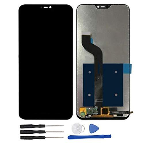 soliocial Asamblea Reemplazo Pantalla LCD Pantalla Táctil Vidrio para Xiaomi Mi A2 Lite/Redmi 6 Pro 5.84 Inch (Negro)