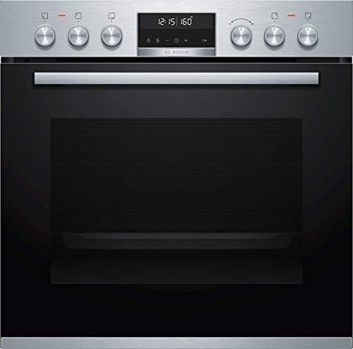 Bosch HND675CS60 Elektrische kookplaat, set voor keukenapparaten, met inductie, glas en keramiek, zwart, touchscreen, 58,3 cm, 51,3 cm