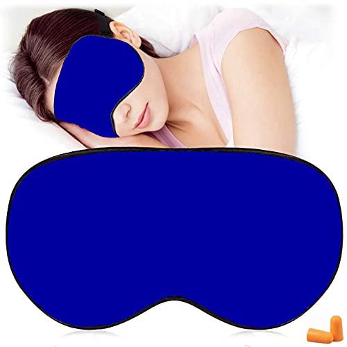 AJUN - Seidenschlafmasken und Augenbinde , Super glatte Augenmaske zum Schlafen , mit verstellbarem Riemen , Geeignet für Reisen, Nickerchen, Nachtschlaf