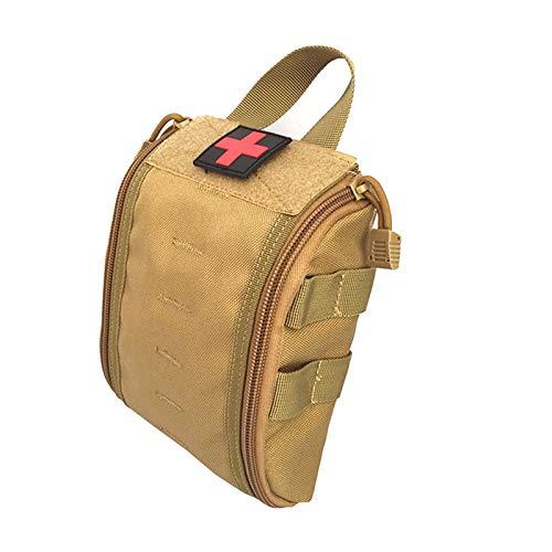 Bolsa de cinturón de la Cintura Las Bolsas tácticos - Utilidad médica Compacto táctico de EMT de la Bolsa MOLLE Militar de Emergencias Bolsa de Primeros Auxilios Kits Supervivencia al Aire Libre Caza