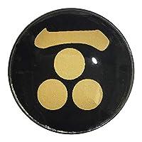 家紋 ピンバッジ 一文字三つ星 毛利元就 ピンバッチ pins 家紋…