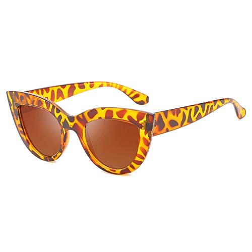 Yuandongxing Moda Gafas Retro Vintage Mujeres Hombres Gafas de Sol Cateye UV400 Gafas Chica