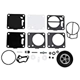 BGTR Accesorios de Moto Set 2 Carburador Carb Kit de reparación for Sea Doo Mikuni 650 717 720 787 800 SP GS GTX HX XP SP Reconstruir Repuesto Kit de Piezas Juntas