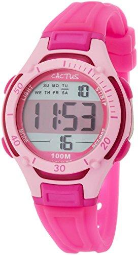 [カクタス] キッズ腕時計 デジタル 10気圧防水 CAC-82-M55 正規輸入品 ピンク