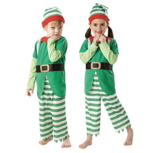 Rubies Officielle Elfe de Noël Utile, Enfants Costume – Petit