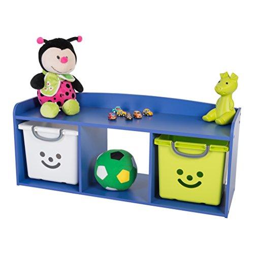 Iris Ohyama Kids bench KBN-3 Blue