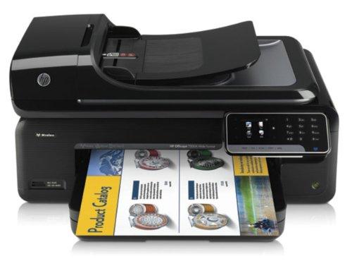 HP Officejet 7500A e-Tintenstrahl Multifunktion Großformatdrucker (A3, Drucker, Scanner, Kopierer, Fax, WLAN, Ethernet, USB 2.0, 4.800x1.200 dpi)