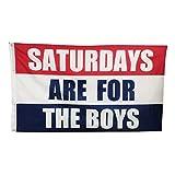 LOYOKI Saturdays Flag Boys Fraternities Parties Dorm Room Balcony Decor Banner College Flags 3x5 Feet with 2 Grommets