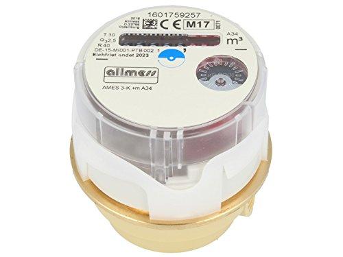 ALLMESS Austauschwasserzähler Messkapsel AMES 3-K +m, kalt, QN 1,5m³/h MK-System