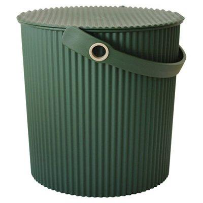 フタ付きバケツ ガーデンツールバケット 10L グリーン