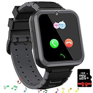 Smooce Smartwatch para Niños, Reloj Inteligente Niños Teléfono con 1.54 Pulgadas Pantalla Táctil, MP3 Música,Llamada SOS… 14