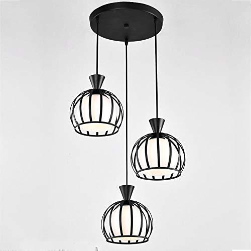 YWSZJ Luz de Techo de Montaje Empotrado rústico, lámpara de Techo Colgante de Montaje Empotrado Industrial Retro de Metal for Pasillo Cocina Bedrooom,