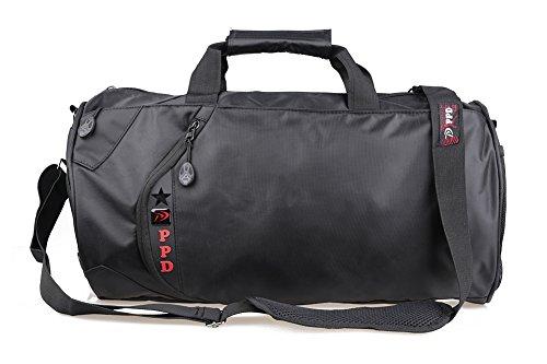 Generic Uomo Grande Borsone Palestra Borsa Sport borsa Lavoro borsa / borsa da Viaggi Attrezzatura Duffle Scarpe sportive e pallacanestro Borsa (50cm×26cm×26cm (Big size))