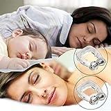 Premium Anti Schnarch Anti Schnarch Hilfe Nase Clip Schlafhilfe Guard Schlaf Hilfe Slumber Nasenclip Clip magnetisch Snore Free -