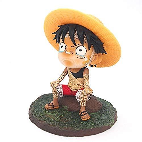 ZJZNB Anime Figur Modell Spielzeug Bandage Ruffy Figur Charakter Figuarts für Kinder und Anime Modell für Heimtextilien