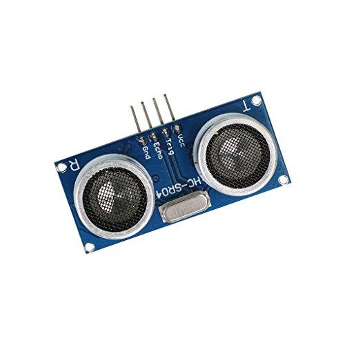 Dergtgh HC-SR04 de medición de Distancia por ultrasonidos + Módulo de Pantalla para Arduino