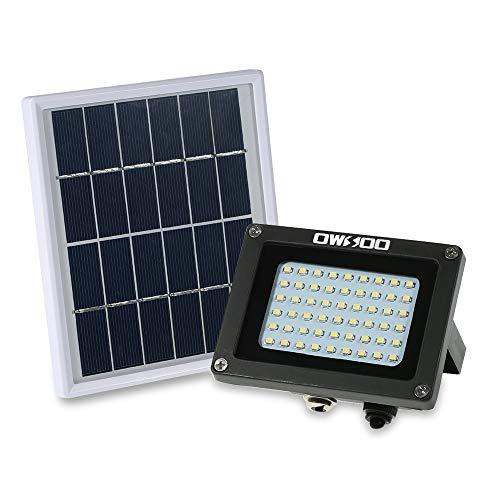 Extaum Solarbetriebenes Flutlicht 54 LED-Solarleuchten IP65 wasserdichte Sicherheitsleuchten für den Außenbereich für Haus, Garten, Rasen