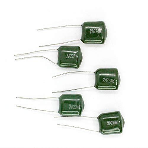 5x Condensateur Mylar 2A224-220nF 100v 14con101