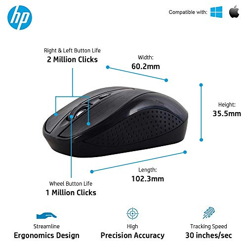 HP USB Wireless Keyboard and Mouse Combo