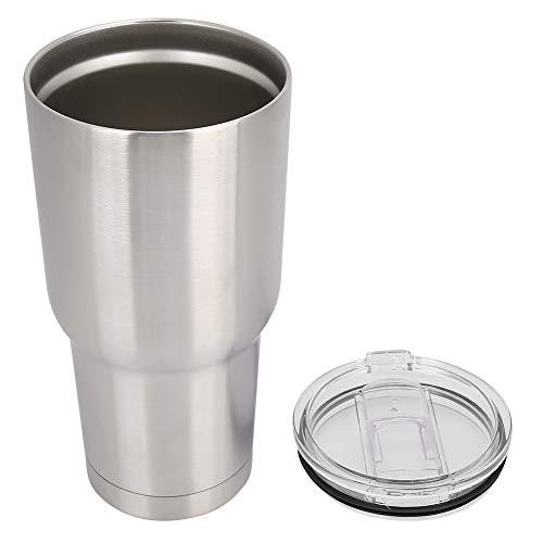 Snufeve6 Taza de café al vacío, Taza de café, Pared Doble para té de café