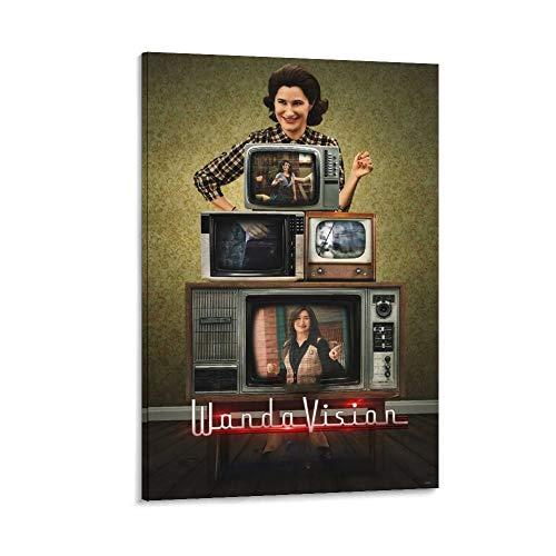 DRAGON VINES WandaVision - Póster de Kathryn Hahn Agnes (20 x 30 cm)