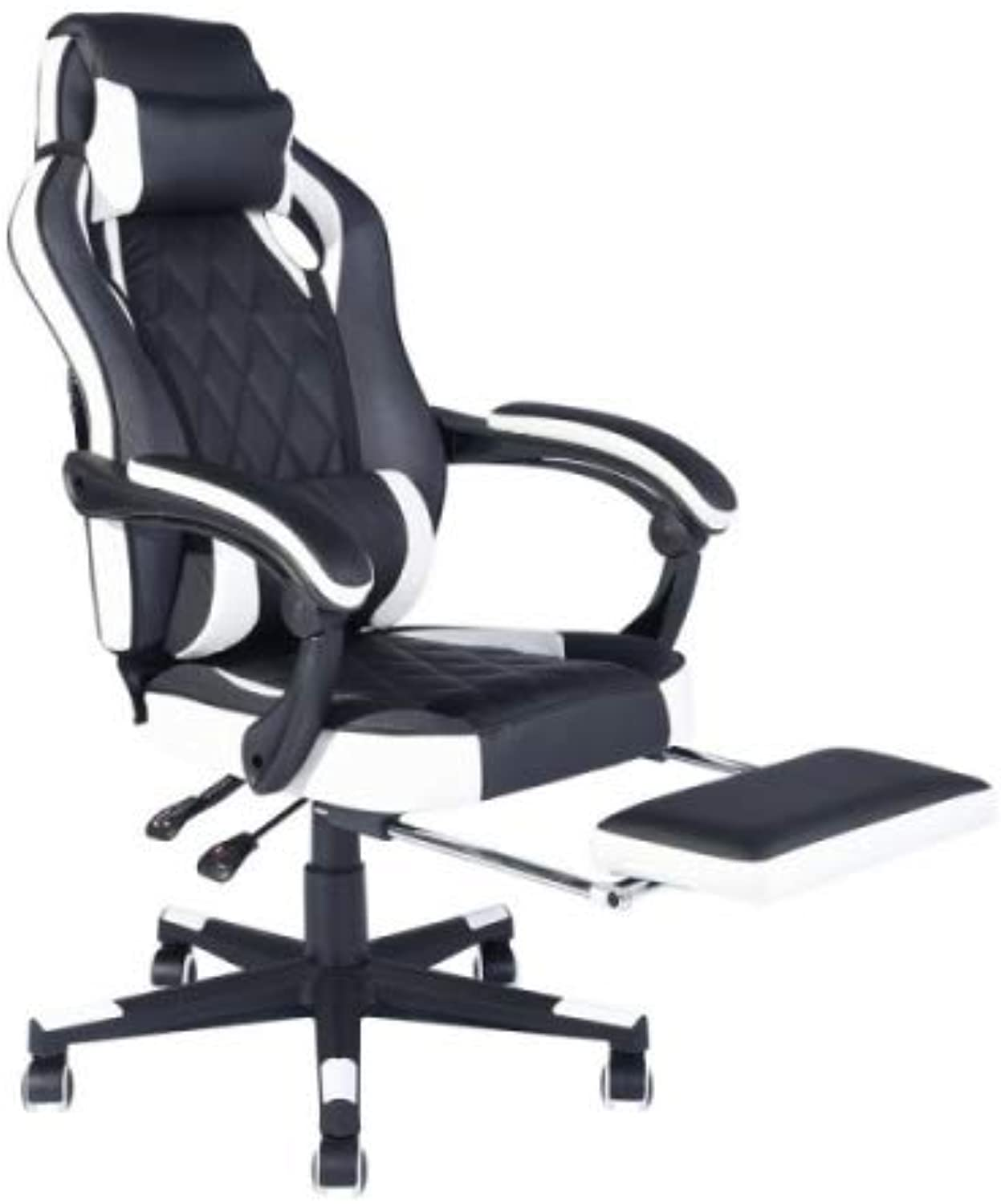 ZF Collections ACE Gaming Chair with Footrest Ergonomic Style Office Chair