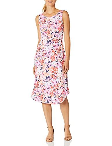 ExOfficio Women's Wanderlux Alessandria Dress, Spritzer Hawaiian Floral, Medium