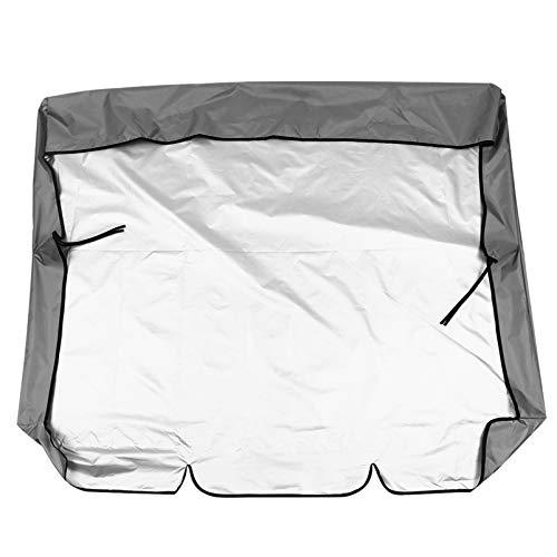HEMOTON Cubierta para silla de columpio al aire libre, cubierta de silla para colgar en el patio, cubierta impermeable para muebles de patio al aire libre
