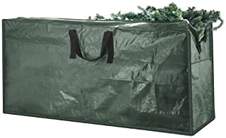 Elf Stor 83-DT5512 Premium Green Christmas Bag Holiday Extra Large for up to 9' Tree Storage, 9 Foot