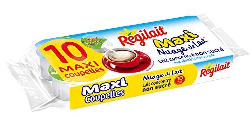 Régilait Lait Concentré Non Sucré Maxi Coupelles 140 g