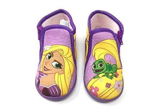 Kinderen meisjes - pantoffels loopschoenen schoenen schoenen boots slappen prinses Rapunzel Tangled 24 EU Rapunzel Tangled