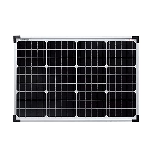 enjoy solar® Mono 12V Panel solar monocristalino ideal para caravanas (50)