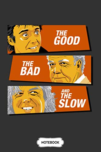 The Good The Bad And The Slow Notebook: Diary, 6x9 120 Pages, Lined College Ruled Paper, Planner, Matte Finish Cover, Journal