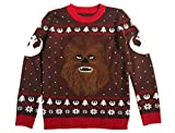 Maglione Natalizio Unisex Star Wars Uomo e Donna Chewbacca Ugly Christmas Sweater Small