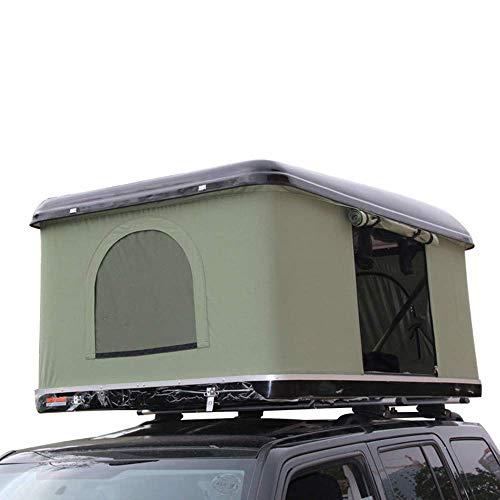 LQZHP Dachzelt Ranger Overland Wasserdicht, schnell öffnend, 2 Tragetaschen für Erwachsene, für Auto, LKW, SUV, Camping, Reisen, Mobil