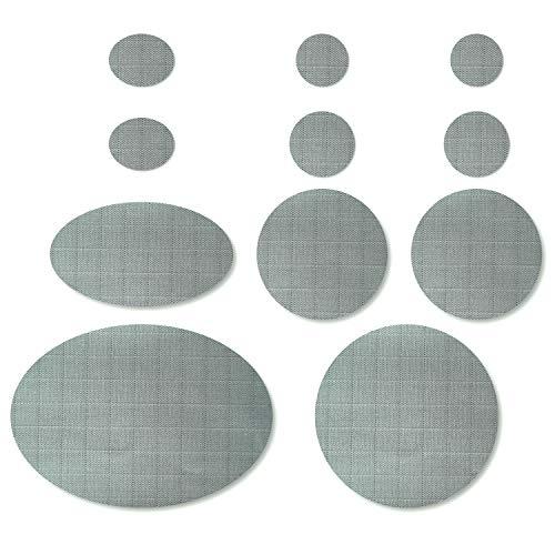 Nordtown Kit de réparation de doudoune auto-adhésif (couleur grise)